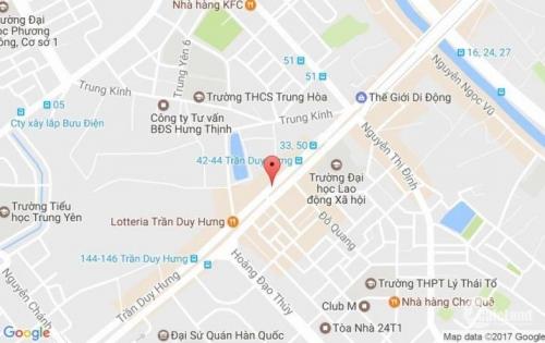Bán gấp Nhà 5 tầng mặt phố Trần Duy Hưng 90m2 MT 7m 46 tỷ, có thương lượng.