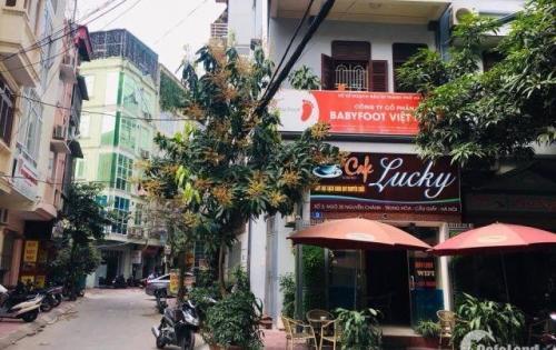Bán nhà ở Nguyễn Chánh, DT 45m2, MT 4m, ô tô tránh, kinh doanh, giá 9 tỷ (LH: 0982489445).