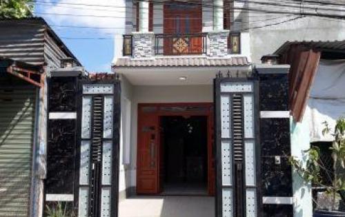 Bán nhà 1 lầu 1 trệt,mặt tiền đường trần quý cáp,dĩ an,bình dương, 100m