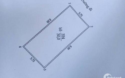 Bán nhà Phân Lô 29 xã đàn. 30m2, 5 tầng, mặt tiền 3.7m, giá 5.35 tỷ