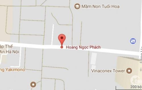 Bán nhà mặt phố Hoàng Ngọc Phách, Đống Đa, DT 52m2, MT 3.5m, giá 15.5 tỷ (LH: 0982489445).