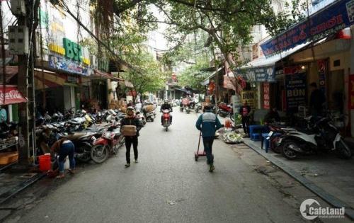 Bán nhà Phố Lê Thanh Nghị, Hai Bà Trưng kinh doanh sầm uất 57.6m, MT 5.5m giá 13 tỷ