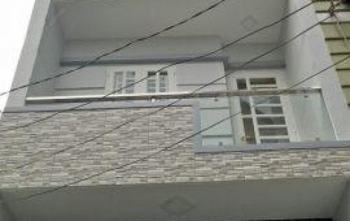 Bán nhà 1 trệt 3 lầu,110m2, nguyễn văn bưa hóc môn,SHR