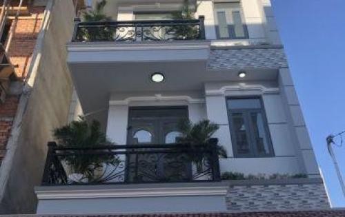 Bán nhà đường Đào Tông Nguyên, Nhà Bè, Tp.HCM. DT 6m x 13.5m. 3 lầu đúc, 4PN, nội thất cao cấp