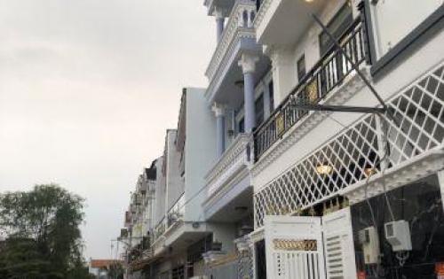 Bán nhà hẻm 2177 đường Huỳnh Tấn Phát, Nhà Bè, DT 5.39 x 10m, 3 lầu 4PN, hẻm xe hơi
