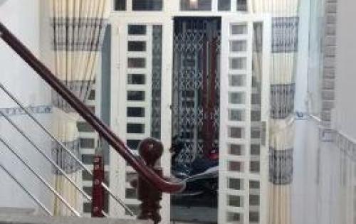 Bán nhà hẻm 2020 đường Huỳnh Tấn Phát, Nhà Bè, DT 3m x 9m, 2 lầu 4PN. Giá 1.59 tỷ