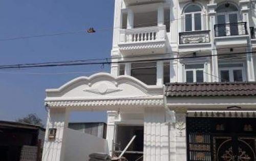Bán nhà mới đường Huỳnh Tấn Phát, thị trấn Nhà Bè, DT 81m2, 2 lầu, sân thượng, giá 1.65 tỷ