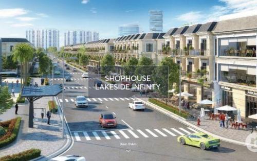 Shophouse Lakeside  Infinity Đà Nẵng. Giá trực tiếp từ chủ đầu tư Đất Xanh