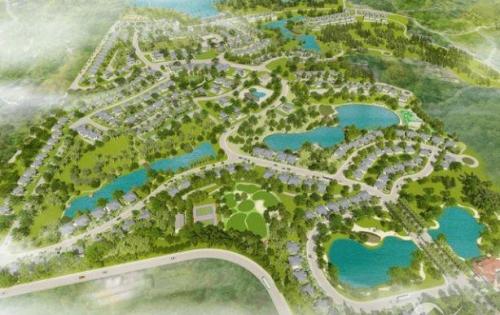 Chính chủ cần bán biệt thự nghỉ dưỡng Eco Valley resort Hòa Bình. DT từ 340-1500m2, giá chỉ từ 2,8tr/m2. LH 0866035483