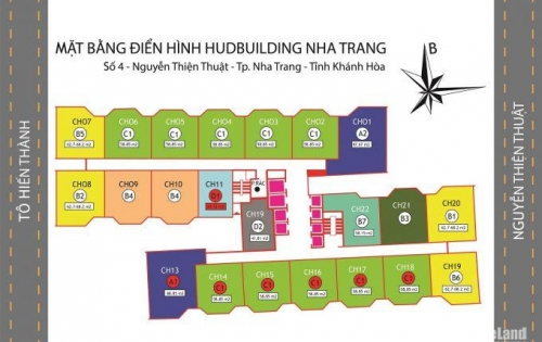 Cần bán căn hộ Hudbuilding - Hud 4 Nguyễn Thiện Thuật Nha Trang.