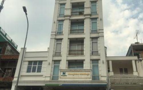 Bán gấp tòa nhà mặt tiền Hai Bà Trưng - Nguyễn Văn Thủ, 8x20m, 6 tầng, TN 350 tr/th. Giá 85 tỷ