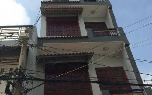 Bán nhà 1 trệt  3 lầu (4.4x14m), 5PN, 4WC. Đường 5m Dương Thị Mười , P.TCH, Q12. SHR