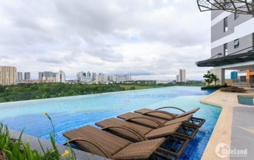 Căn hộ 2pn tầng cao view  nhìn trọn sông Sài Gòn 2,6 tỷ LH ngay 0901096007