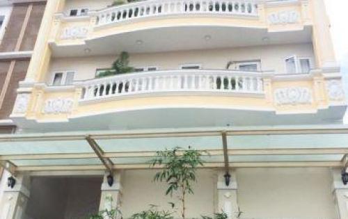 Bán tòa nhà MT Nguyễn Đình Chiểu, P.6, hầm 6 lầu, hợp đồng thuê 220tr/th