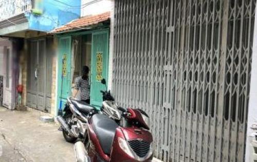 Bán gấp nhà 1 lầu nở hậu hẻm 874 Đoàn Văn Bơ quận 4.