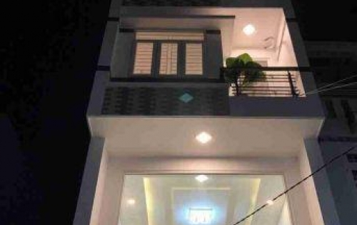 Nhà phố đẹp 3 Lầu (4x1m5) Hẻm xe Hơi 502/11/11A Huỳnh Tấn Phát, Q7
