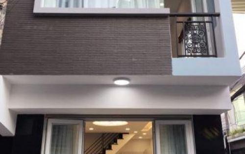 Cần bán gấp nhà phố 1 lầu mới đẹp góc 2 mặt tiền hẻm Vườn Điều ĐS 10, P. Tân Quy, Quận 7.