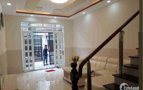Bán Nhà Quận 7 (4x15m) 1 lầu mới xây đẹp hẻm 588/37/17 Huỳnh Tấn Phát