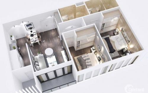 Căn 78m 2 phòng ngủ, 2 toilet View hồ bơi giá 1,8 tỷ. LH 0934.056.421
