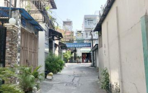 Bán nhà cấp 4 hẻm xe hơi đường Nguyễn Đức Ngữ Phường 4 Quận 8