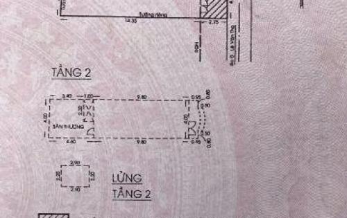 Bán Nhà 1 sẹc Nguyễn Văn Khối nd (đs11 cũ) hẻm thực tế 3,5m khác sổ, LG mới nhả ra 1m