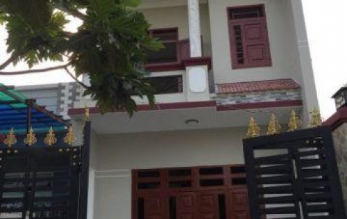 Bán gấp nhà góc 2 mặt tiền đường số 20, 4x10m, đúc 1 lầu BTCT, gần đường Lê Văn Quới
