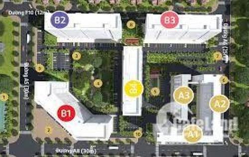 Mở bán! Block đẹp nhất Căn Hộ Green Town Bình Tân, chỉ 1.2 tỷ/căn 2pn, bàn giao full nội thất