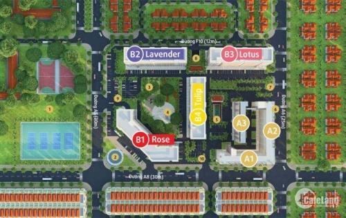 Hot!!Hot!! Mở Bán Block 2 Mặt Tiền Đường 30M Dự Án GreenTown
