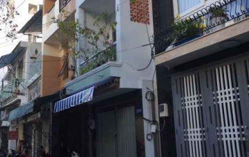 Nhà HXH Huỳnh Văn Bánh, nhà 4 lầu đẹp ở liền, oto đậu cửa.