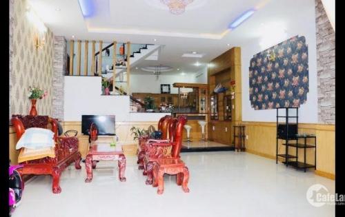 Bán nhà 42m2, 4 tầng, hẻm xe hơi 6m Huỳnh Văn Bánh phường 13 quận Phú Nhuận
