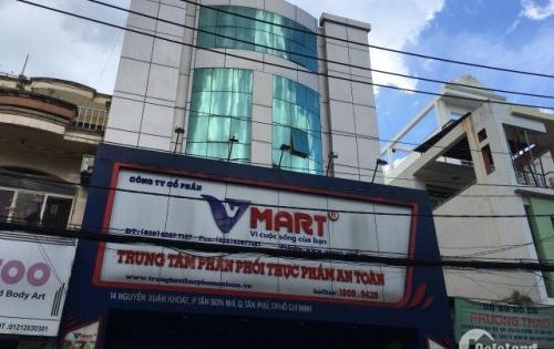 Bán MTKD đường Nguyễn Xuân Khoát P Tân Thành dt 8mx23m  3 lầu giá 20.5 tỷ,