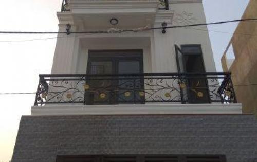 Bán nhà 1 trệt 2 lầu, diện tích 78 m2, sàn lát gỗ sang trọng, tại đường số 2 Trường Thọ