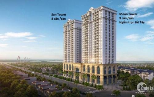 Chung cư cao cấp [ Tây Hồ Residence] giá chỉ 2.98 tỷ/2pn/ full nội thất, 100 % CH thoáng đẹp