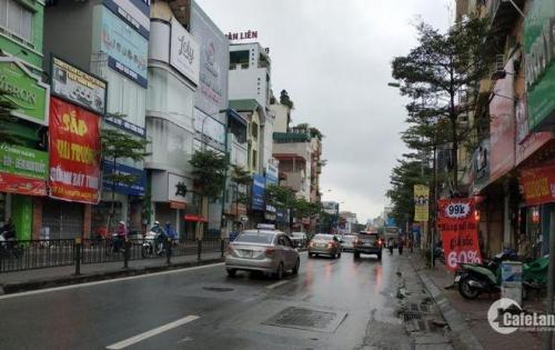 SỐC!!! Mặt phố Lạc Long Quân, dt 45m, mặt tiền 4.1m, giá 9.99 tỷ.