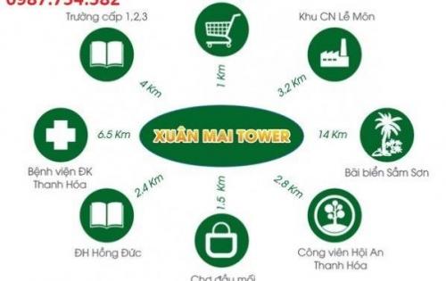 Chính thức nhận đặt gạch cho siêu phẩm chung cư cao cấp nhất Xuân Mai Thanh Hóa. LH: 0987.754.582