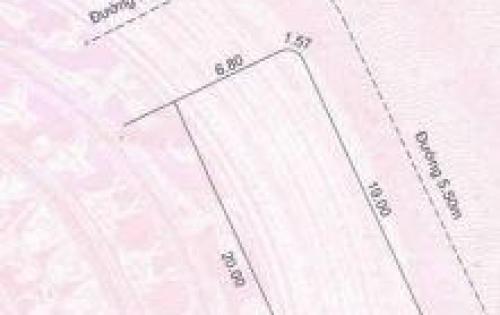 Cho thuê và hợp tác kinh doanh lô đất đường Hồ Xuân Hương, Đà Nẵng