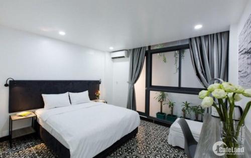 Cho thuê căn hộ cao cấp mới xây 100%, đầy đủ tiện nghi, giá 10,5tr/tháng, 25m2