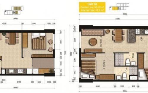 Cho thuê căn hộ ngay trung tâm sầm uất quận 2, gần siêu thị, trường chỉ 10 triệu/ tháng