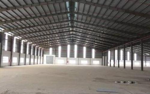 Cho thuê kho xưởng 6.000m2 mới xây tại KCN Vĩnh Lộc. Giá 4,5usd/m2.