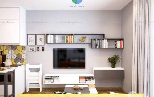 Cho thuê căn 2 ngủ full đồ, dt 58m2 ở Green Bay Mễ Trì. Giá 14 tr/tháng.