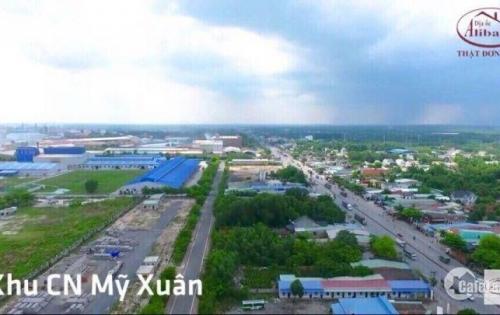 Bán Đất ngay trung tâm thị xã Tóc Tiên