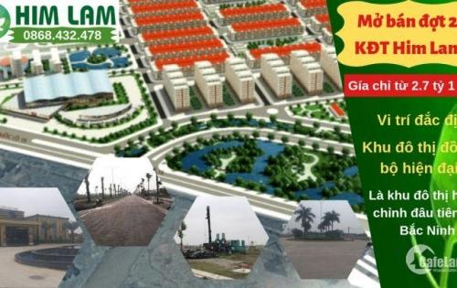 Mở bán đợt 2 dự án Him Lam - Đại Phúc