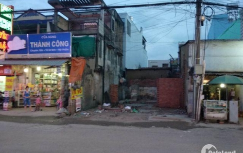 Bán gấp lô đất thổ cư đường Nguyễn Văn Tuôi, thị trấn Bến Lức .LA DT: 120M2. 1tỷ