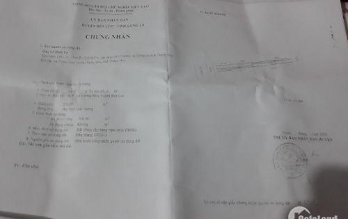 Bán đất mặt tiền tỉnh lộ 824 lương Hòa Bến Lức long an
