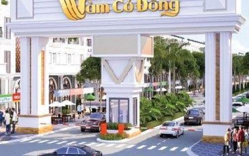 Khu dân cư phố chợ vàm cỏ đông, đầu tư F0 690tr/nền, LH: 0938393218