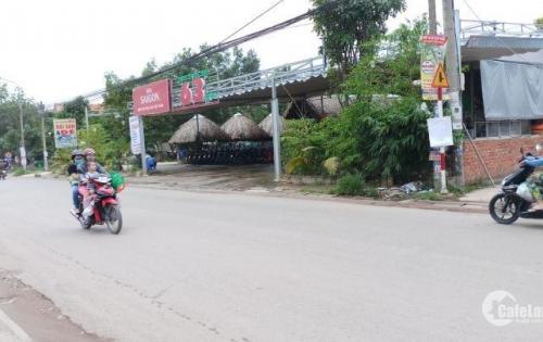 Đất sổ đỏ thổ cư 100% mặt tiền QL51, Ngay KCN Biên Hòa, giá 500 triệu