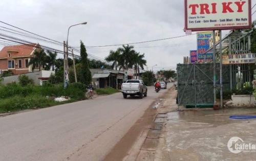 Đất mặt tiền chợ ngay khu công nghiệp Giang điền