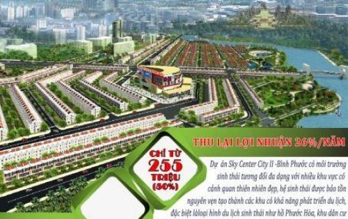 Chính Thức Nhận Đặt chỗ Dự Án Đất Nền Sky Center City II, Tại Chơn Thành-Bình Phước. Giá Hợp Lý, Lơi Nhuận Cam Kết.