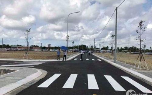 Cần bán lô đất ngay KCN Becamex Chơn Thành Bình Phước, đối diện trường cấp 2,3 Dt 250m2 giá 450 triệu