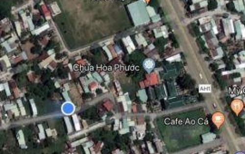 Bán lô đất chưa qua đầu tư thôn Nhơn Thọ 2 xã Hòa Phước sát đường quốc lộ 1A, đường bê tông thông